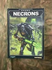 Games Workshop Warhammer 40,000 3rd Edition Codex Necrons (2002) OOP