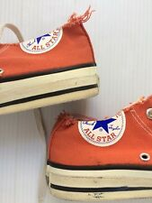 VTG 90s Cut Off Low Top Made In USA Converse Womens 7 All Star Grunge Destroyed