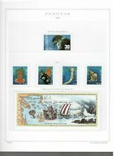s30262) FAEROER 2002 MNH** Complete year set (3 scans)
