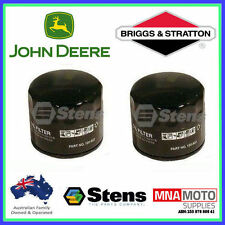 2 X OIL FILTERS FOR JOHN DEERE MOWERS AM125424  , AM131948 , GY20577