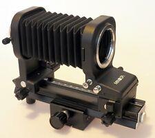 Minolta MD Balgengerät Bellows Tilt & Shift + Contax focusing rail  M42 Nikon F