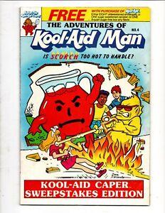 The ADVENTURES of KOOL-AID MAN 1987 GENERAL FOODS GIVEAWAY PREMIUM DAN DeCARLO