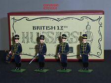 Britains 49020 British 13th USSARI METAL Toy Soldier Figure Set