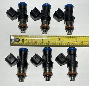 6pc Fuel Injector 0280158091 Fits Most Ford Mercury Mazda Lincoln 3.5L 3.7L CX-9