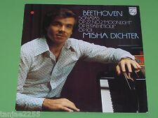 Beethoven - Misha Dichter - Sonatas Klaviersonaten Nr.8,14,28# - Philips LP