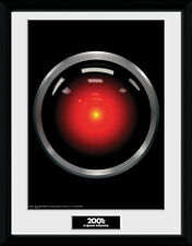 2001 A Space Odyssey Hal 9000 Framed Collector Print Sci Film 30x40cm | 12x16