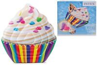 Intex Inflatable Giant Cupcake Lilo Swimming Pool Beach Holiday Blow Up Float 63