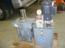 "Haldex hydraulic pump, Miller cylinder, 8"" bore, 4"" stroke, 5"" diameter rod"