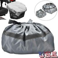 Pro Waterproof Nylon Mobility Scooter Front Basket Cover & Bag Reflective US