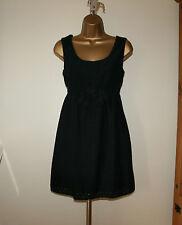 Juicy Couture Black Floral Lace Summer Dress Sz US 6 / UK 10
