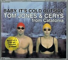 "TOM JONES & CERYS CATATONIA - 5"" CD - Baby It's Cold Outside + Remixes CD 2. CUT"