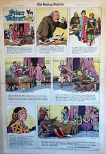 Prince Valiant by Hal Foster - full page color Sunday comic - August 27, 1967