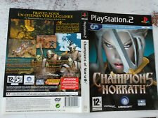 Jaquettes/Front-Back covers Champions of norrath Sony Playstation PS2 FR