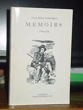 Lieut. Henry Timberlake's Memoirs 1756-65 Among Cherokee L. Tennessee River