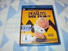 Los Peanuts-la película [Blu-ray 3d + Blu-ray 2d] nuevo embalaje original