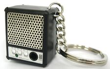 Mini Amp Portable Speaker keyring keychain for iPod, iPhone & MP3 3.5mm Jack