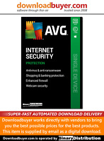 AVG Internet Security 2020 - 10 PC - 1 Year [Download]