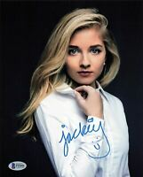 Jackie Evancho signed 8x10 photo BAS Beckett Autographed