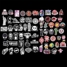 100PCS Lot Sticker Graphics Decal Car Skate Skateboard Laptop Luggage Emblems FT