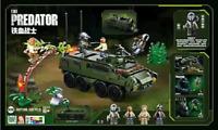 Sluban B0719B Alien vs Predator Armored Vehicle Monster Baukästen Blocks Sets