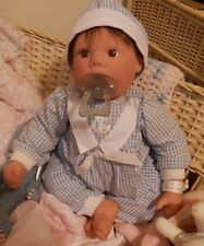 LEE MIDDLETON DOLL-19 INCH LITTLE LOVE NURSERY DOLL WITH SIGNED NURSERY BAND
