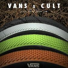Cult Vans 20x2.20 Tire White w/ Black BMX 110psi