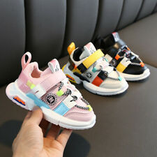 Toddler Infant Kids Baby Girls Boys Soft Sole Mesh Running Sport Shoes Sneakers
