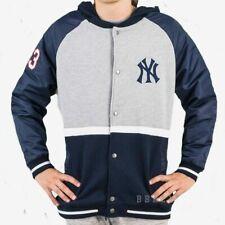 Majestic New York Yankees Baseball Hoodie Mens Large MLB Hooded Top Jacket