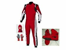 Kart CIK/FIA Level 2 approved race suit kit (Free gloves & balaclava)