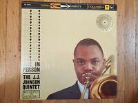 J.J Johnson J.J. In Person NM Vinyl LP  EX Record Cover Columbia CS-8009  Jazz