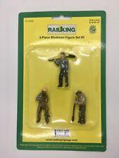 Railking G Gauge 3-piece Workman Figure Set 3