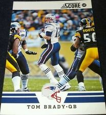 Serial Numbered Score Tom Brady Original Football Cards