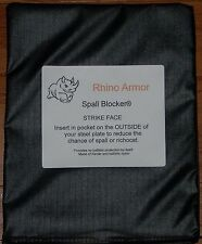 "AR500 Steel SAPI  6x8"" Spall Blocker® PAIR"