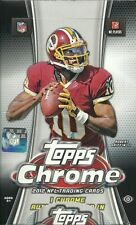 2012 Topps Chrome Football Factory Sealed Hobby Box  - 1 Autograph in EVERY Box.