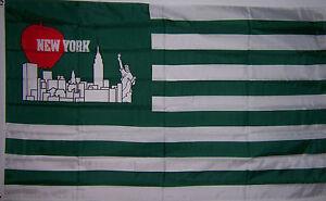 NEW 3x5ft NEW YORK JETS CITY PRIDE BANNER FLAG VERY RARE