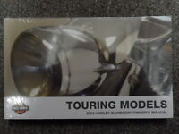 2004 Harley Davidson Touring Owners Operators Owner Manual FACTORY NEW
