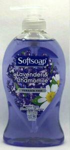 SOFTSOAP LIQUID HAND SOAP LAVENDER & CHAMOMILE PARABEN FREE 11.25 OZ NEW