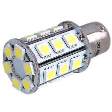 HQRP BA15s bombilla led SMD; 24 LED 5050 (10-30V DC 3.4W) 7000K luz blanca fría