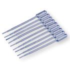 Внешний вид - 10 Clear graduated pipette dropper 1ml, disposable or reusable dropper