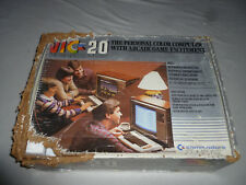 BOXED VIC-20 COMMODORE COMPUTER SYSTEM & GAME LOT GARDEN WARS KRAZY KONG VINTAGE