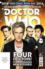 DR WHO 4 DOCTORS SPECIAL 1 FCBD FREE COMIC BOOK DAY 2016 GIVEAWAY PROMO NM