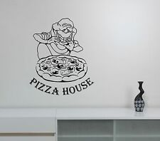 Pizza Logo Wall Decal Slimer Vinyl Sticker Ghostbusters Art Window Sign Decor p3