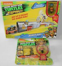 NEW TEENAGE MUTANT NINJA TURTLES T-SPRINTS MAD-MOTION MIKEY & SEWER DUEL