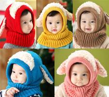 Kinder Baby Hüte Wintermütze Schlupfmütze Schalmütze Mützen Fleece baumwolle