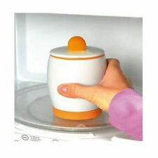 EGG COOKER Ceramic Microwave Poacher Fan tastic Fast Fluffy Eggs EXPRESS POST!!!