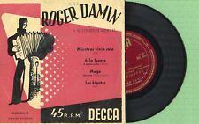 ROGER DAMIN / Mientras Vivia Solo / DECCA DGE 60115 Press Spain 195? EP EX
