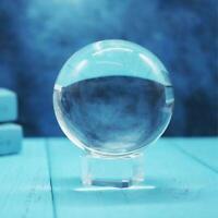 Klarglas Kristallkugel Healing Kugel Fotografie Requisiten Ball Neue Pro O7V0