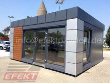 Gastronomiepavillon Imbisscontainer Bürocontainer 6,0m x 5,0m Efektpavillon
