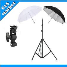 "speedlite umbrella lighting photography kit light stand+Bracket D+2x33"" umbrella"