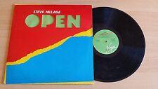 STEVE HILLAGE - OPEN - LP 33 GIRI+ORIGINAL INNER SLEEVE - ITALY PRESS